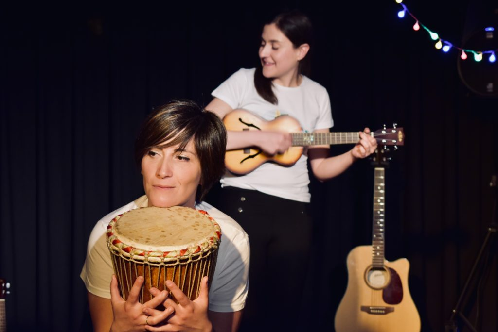 Las Hermanas de Cenicienta. Música infantil. Concierto en familia